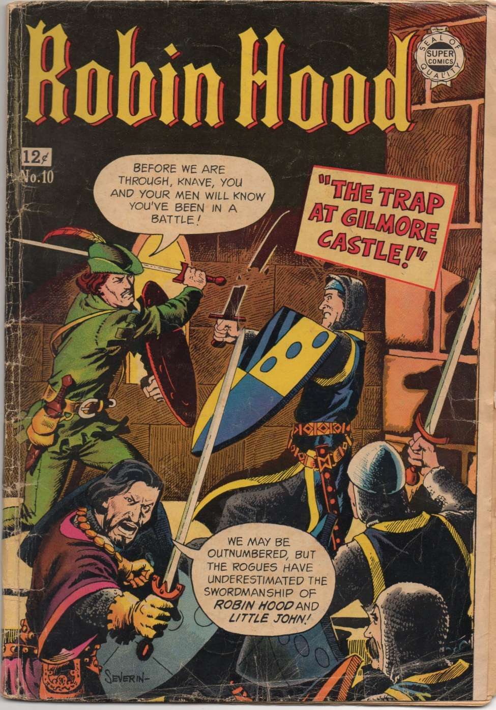 Comic Book Cover For Robin Hood #10