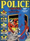 Cover For Police Comics 6
