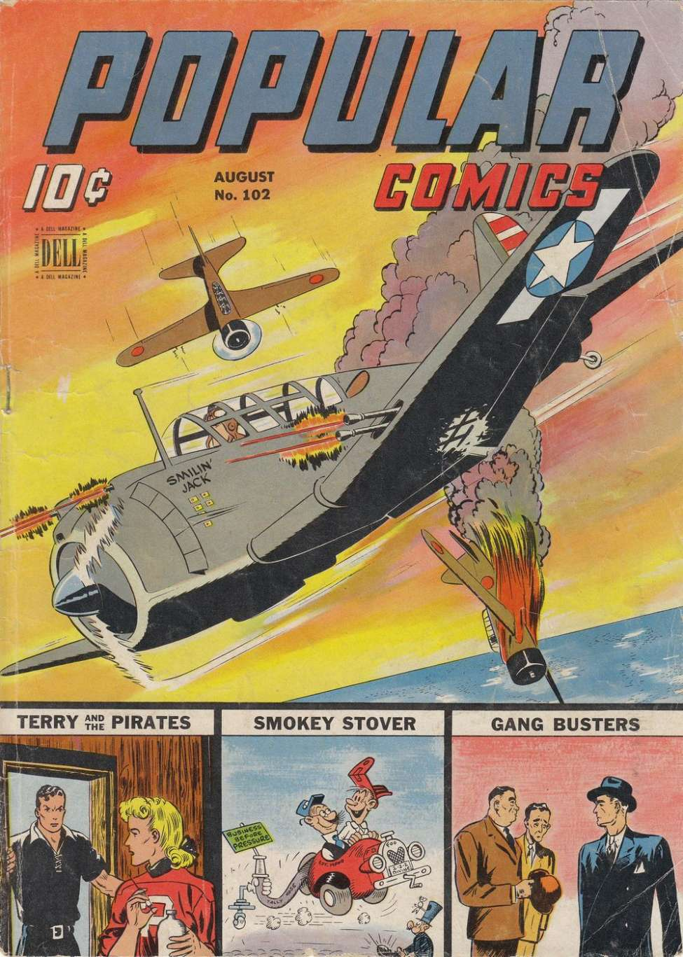 Comic Book Cover For Popular Comics #102