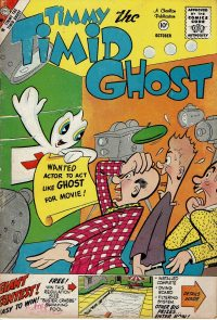 Large Thumbnail For Timmy the Timid Ghost #17