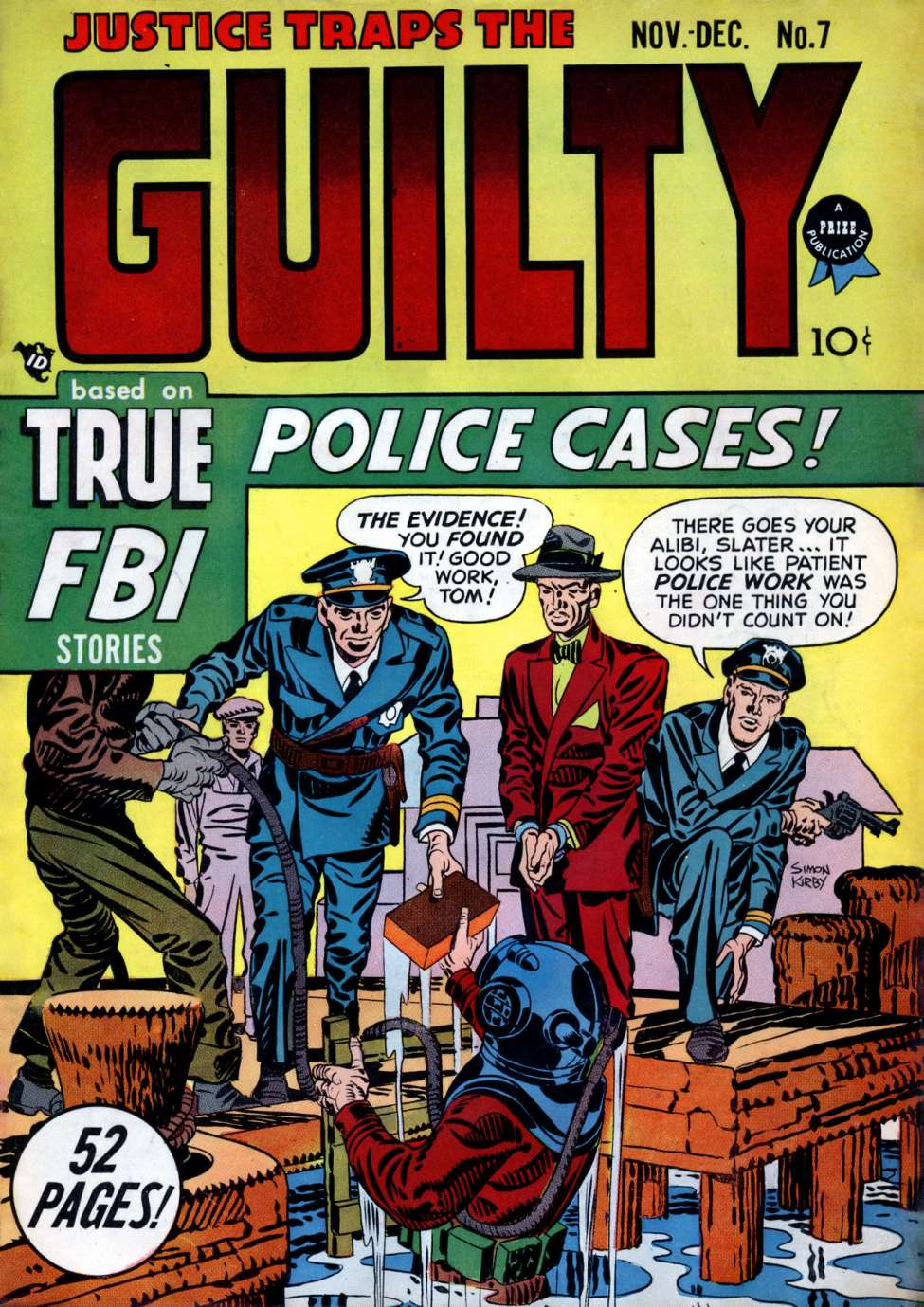 Comic Book Cover For Justice Traps the Guilty v2 1 (7)