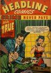 Cover For Headline Comics 25