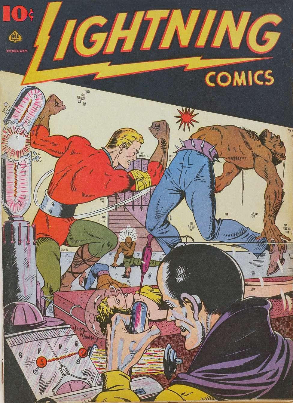 Comic Book Cover For Lightning Comics v2 #5
