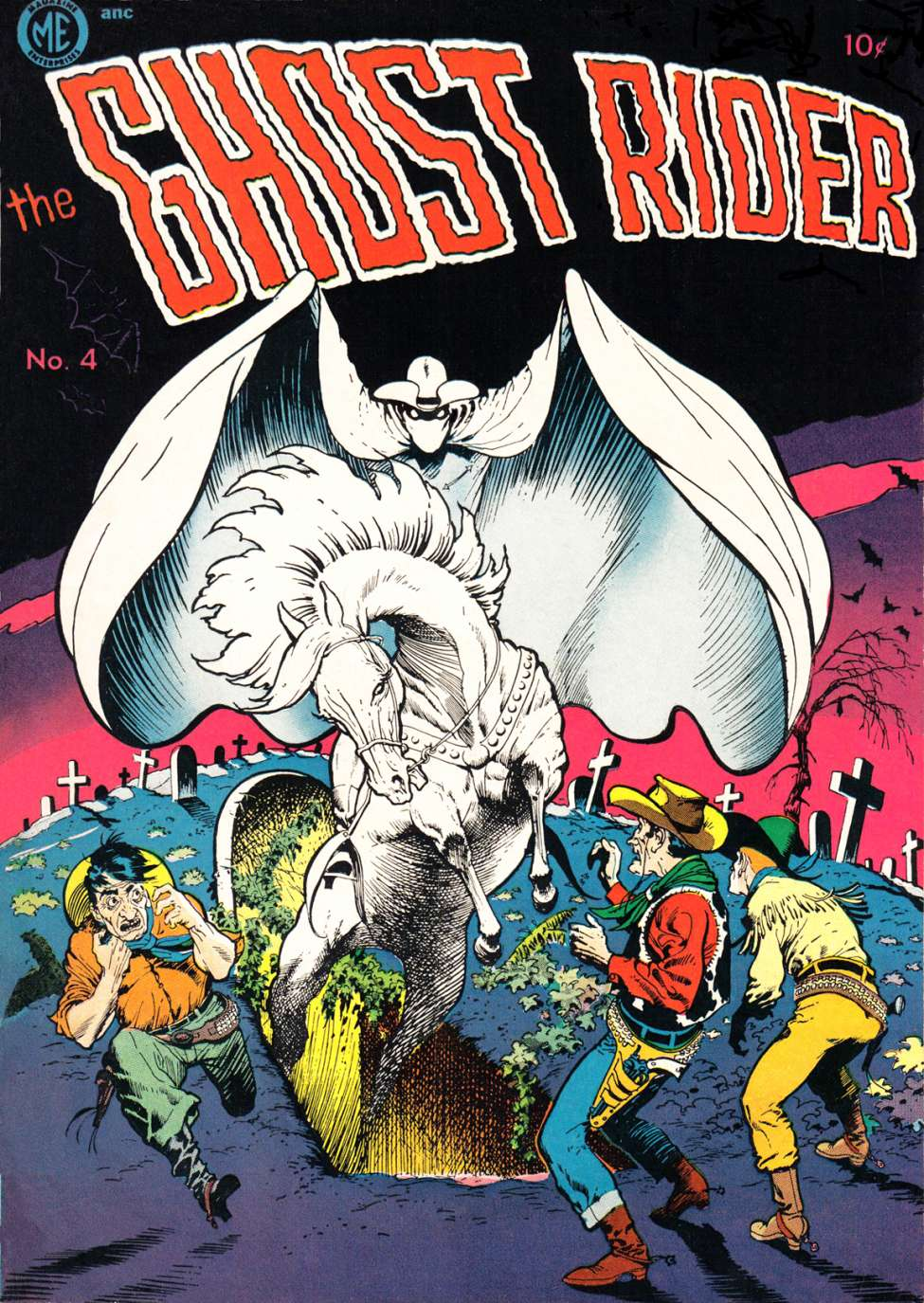 Comic Book Cover For The Ghost Rider 4 [A-1 No. 34] - Version 1