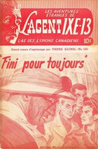 Large Thumbnail For L'Agent IXE-13 v2 154 - Fini pour toujours