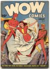 Cover For Wow Comics 21