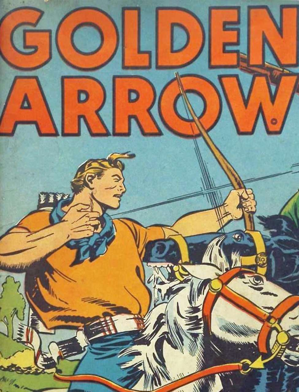 Comic Book Cover For Golden Arrow Archive Vol 04