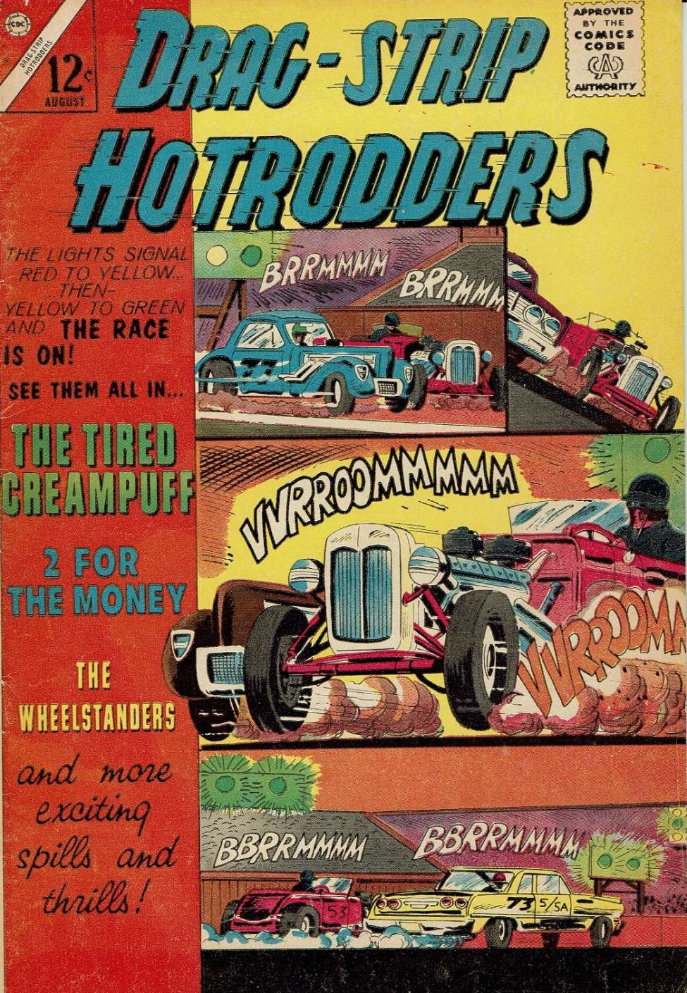 Comic Book Cover For Drag-Strip Hotrodders 05