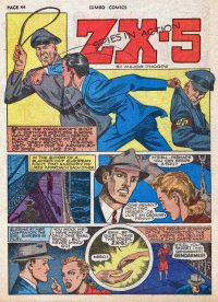 Large Thumbnail For ZX-5 Spies in Action Archive Vol 04