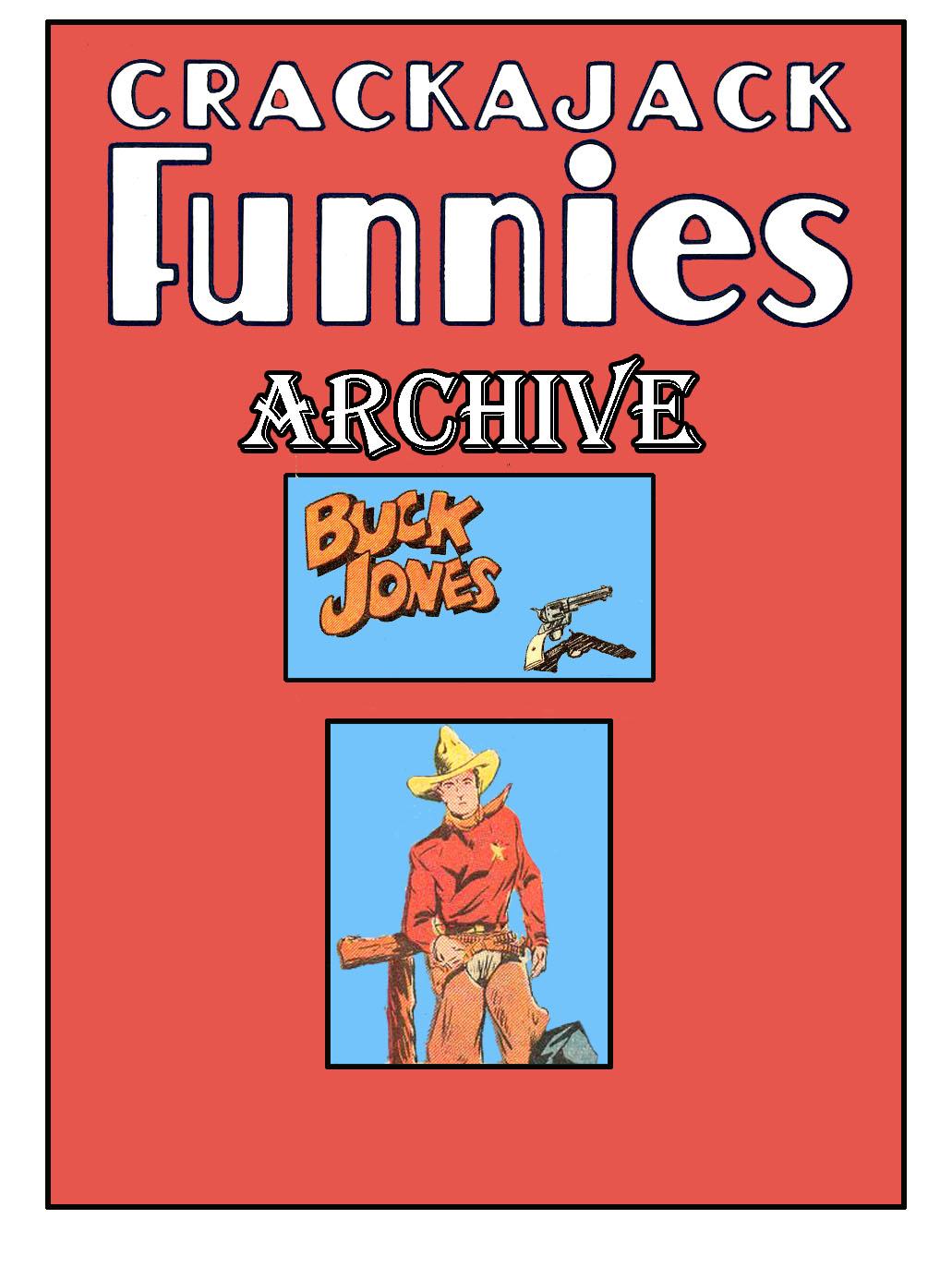 Comic Book Cover For Buck Jones Stories - Crackajack Archive