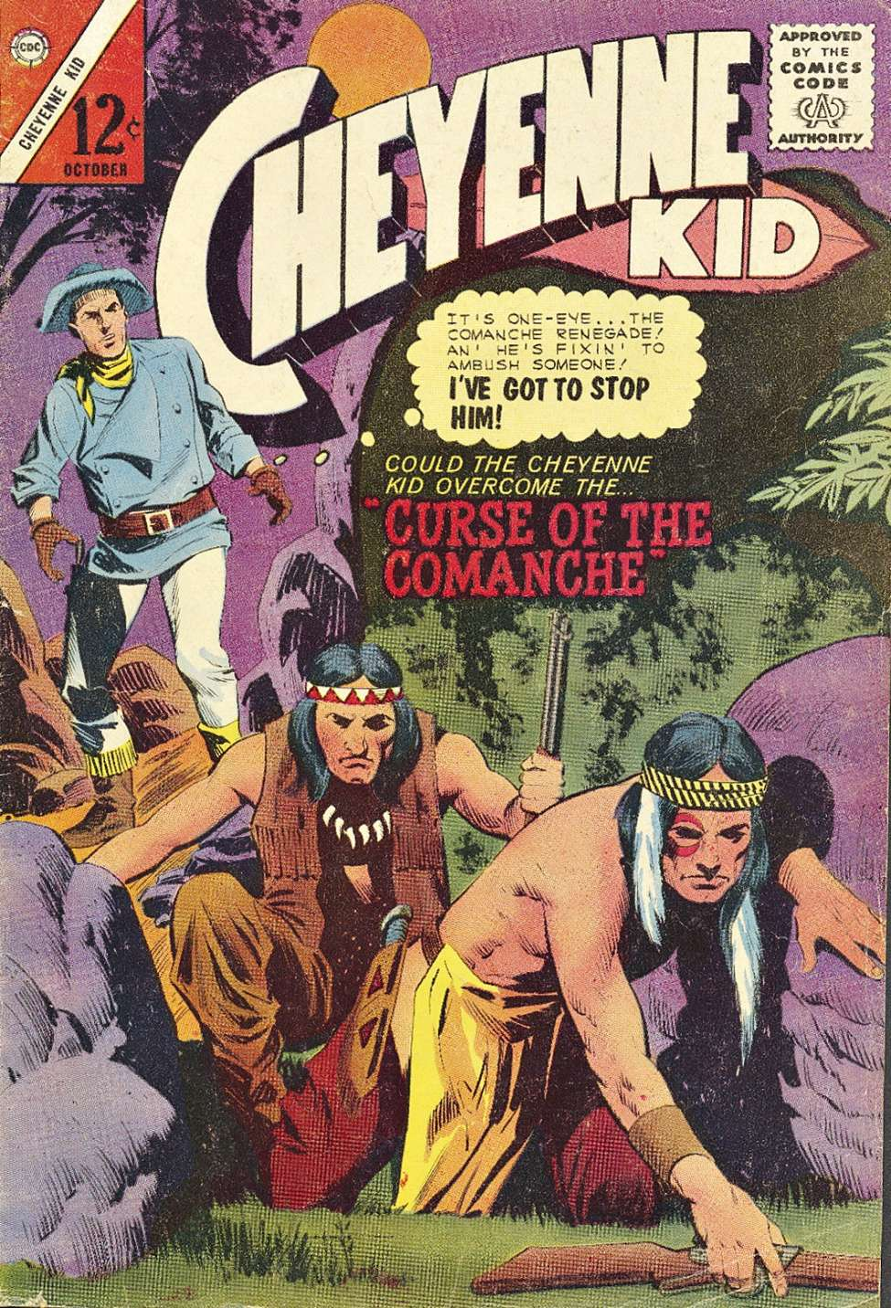 Comic Book Cover For Cheyenne Kid #47