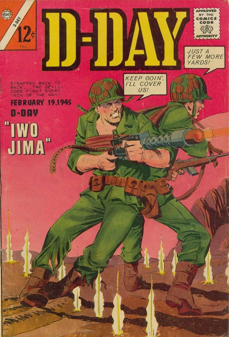 Comic Book Cover For D-Day #2