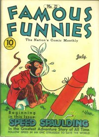 Large Thumbnail For Famous Funnies #72