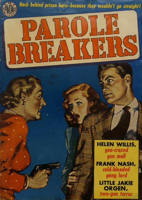 Comic Book Cover For Parole Breakers 2 (1) - Version 1