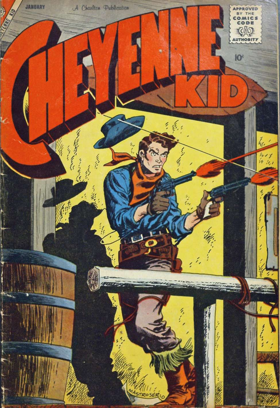 Comic Book Cover For Cheyenne Kid #15 - Version 1
