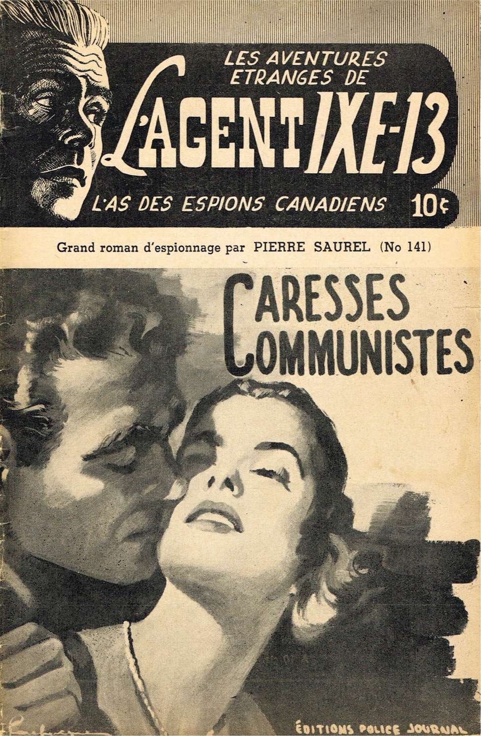 Comic Book Cover For L'Agent IXE-13 v2 141 - Caresses Communistes