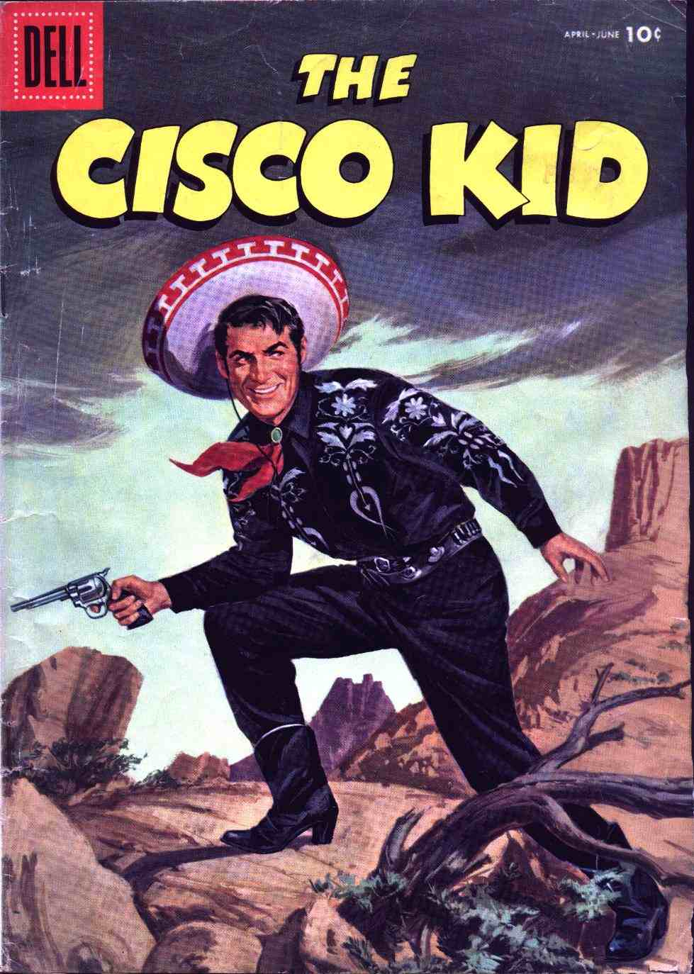 Comic Book Cover For The Cisco Kid 31