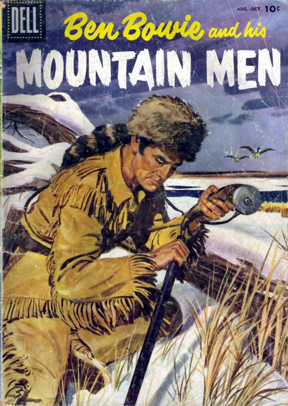 Comic Book Cover For Ben Bowie and His Mountain Men #8