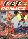 Cover For Pep Comics 11