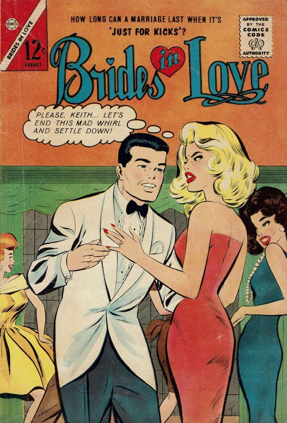 Comic Book Cover For Brides in Love #37