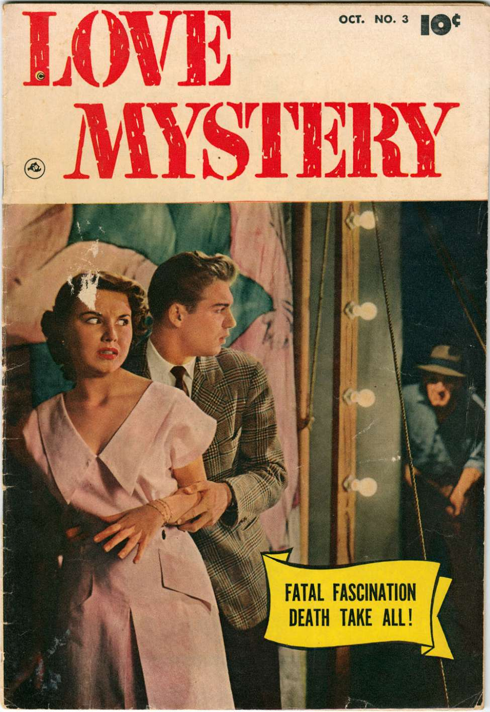 Comic Book Cover For Love Mystery #3