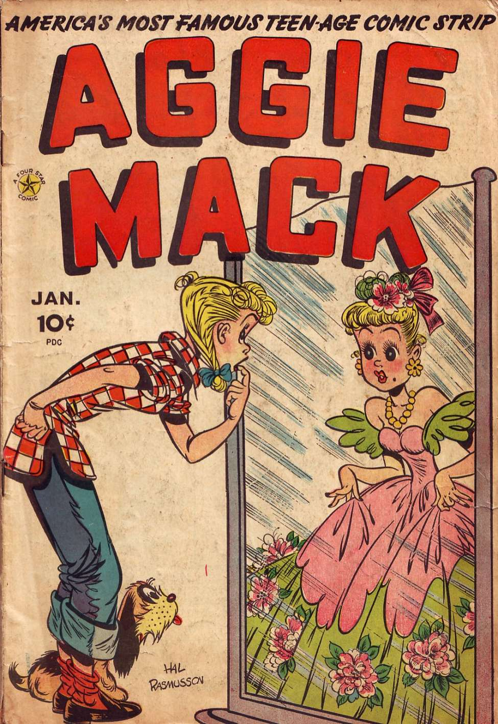 Comic Book Cover For Aggie Mack #1