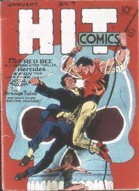 Large Thumbnail For Hit Comics #7