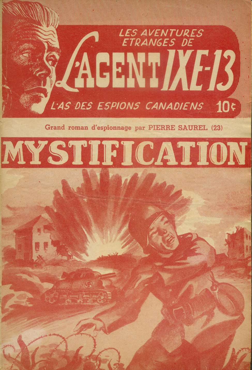 Comic Book Cover For L'Agent IXE-13 v2 023 - Mystification
