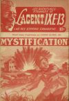 Cover For L'Agent IXE 13 v2 23 Mystification