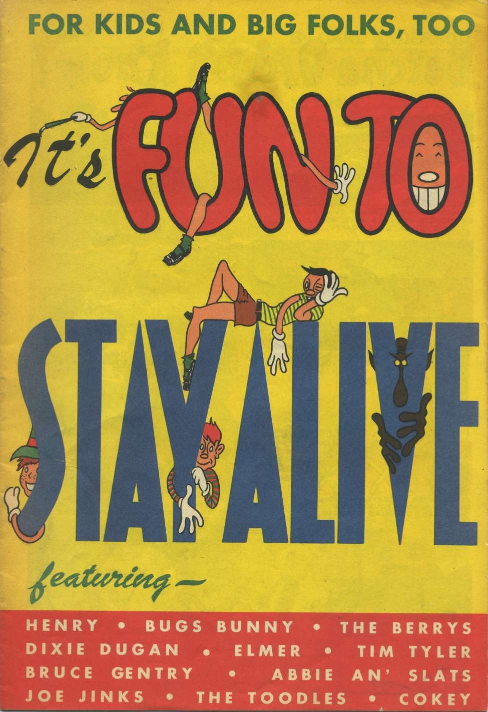 Comic Book Cover For It's Fun to Stay Alive [nn]