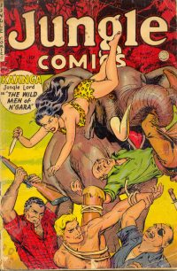 Large Thumbnail For Jungle Comics #153