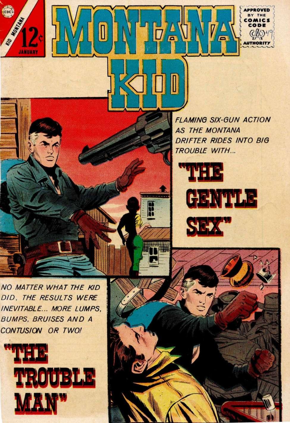 Comic Book Cover For Kid Montana #49