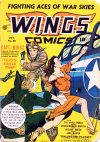 Cover For Wings Comics 26
