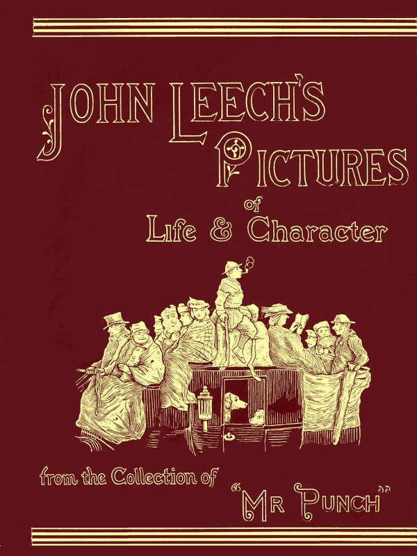 Comic Book Cover For John Leech's Pictures of Life and Character, Vol. 3