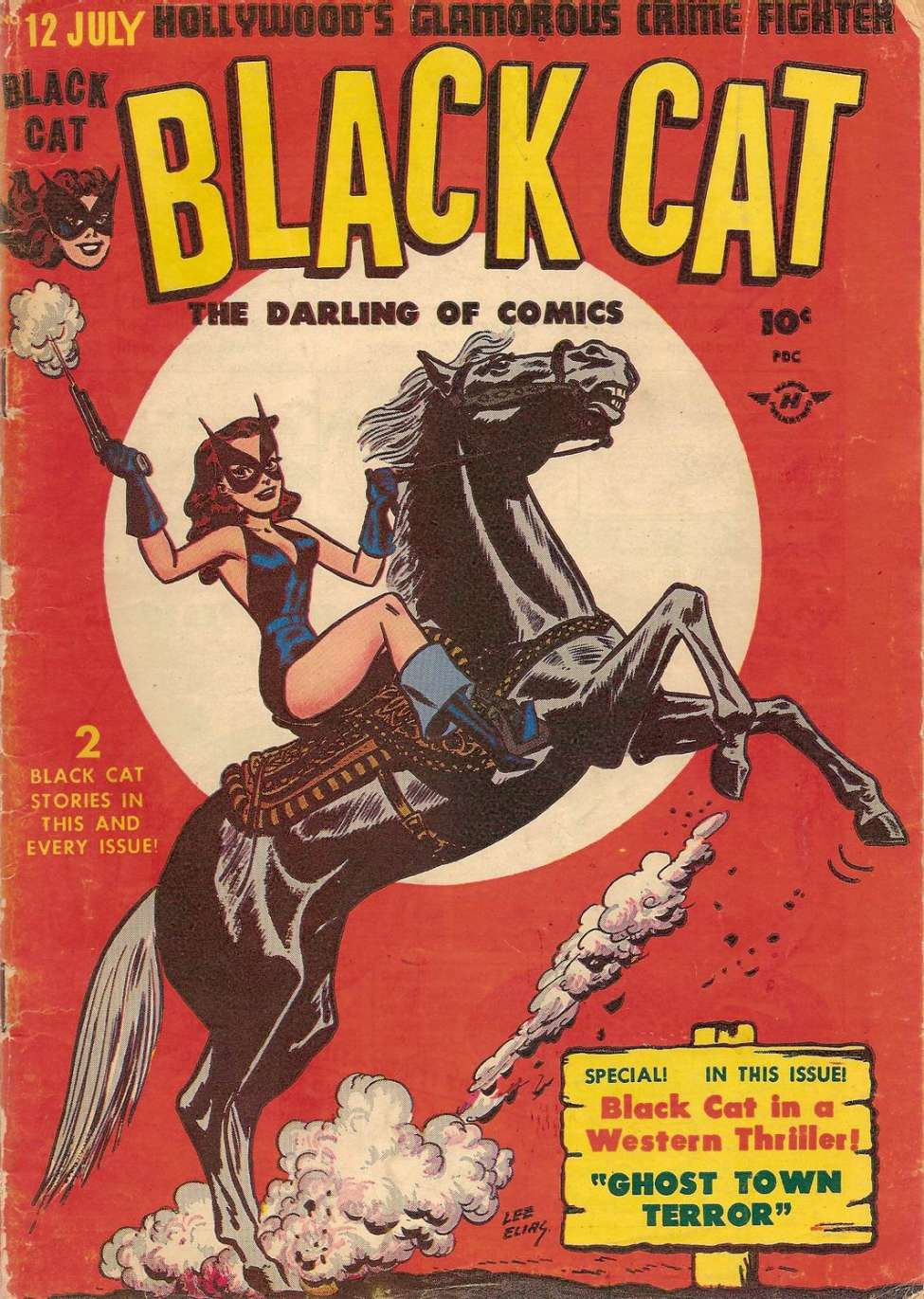 Comic Book Cover For Black Cat #12