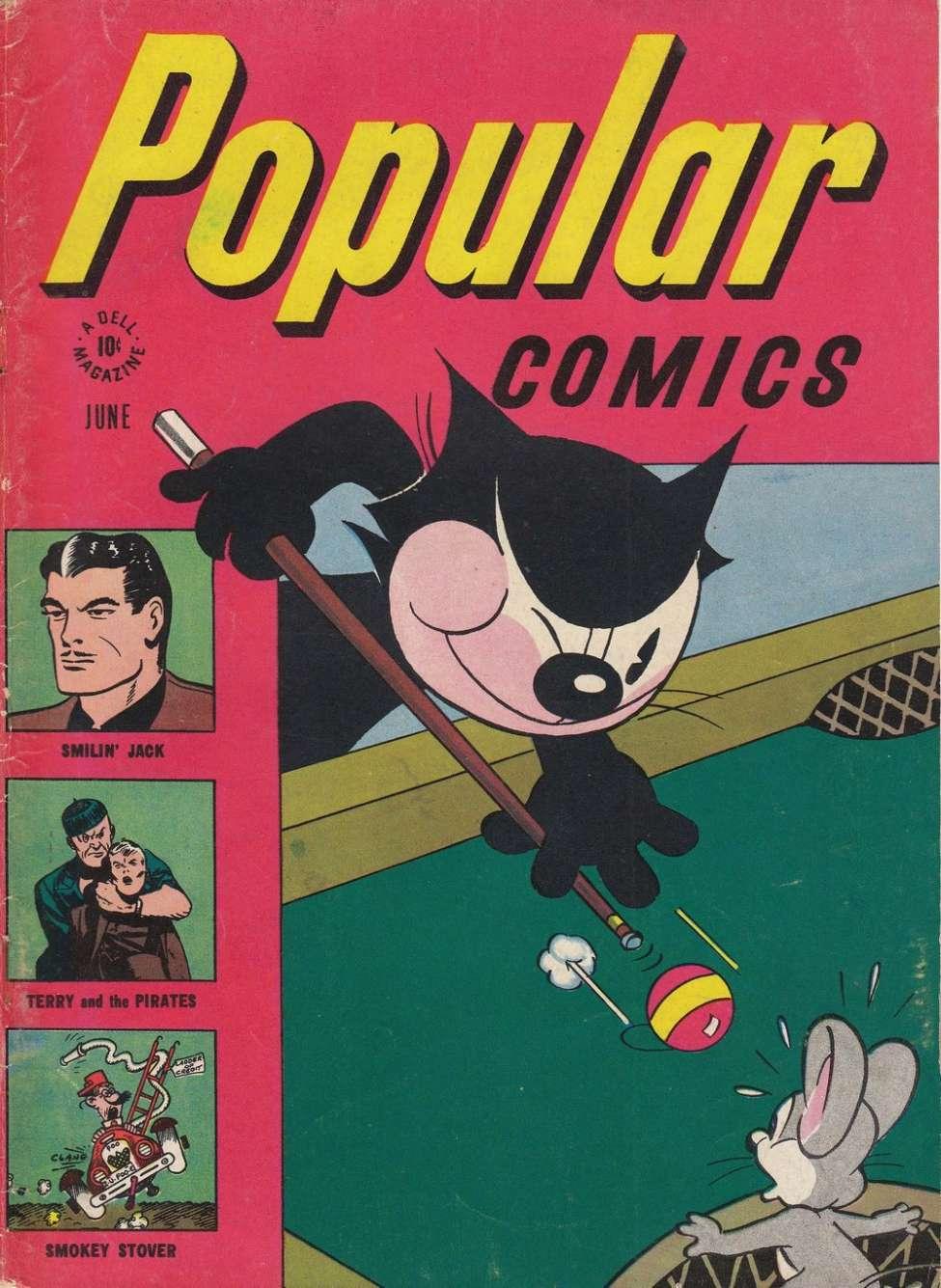 Comic Book Cover For Popular Comics #124