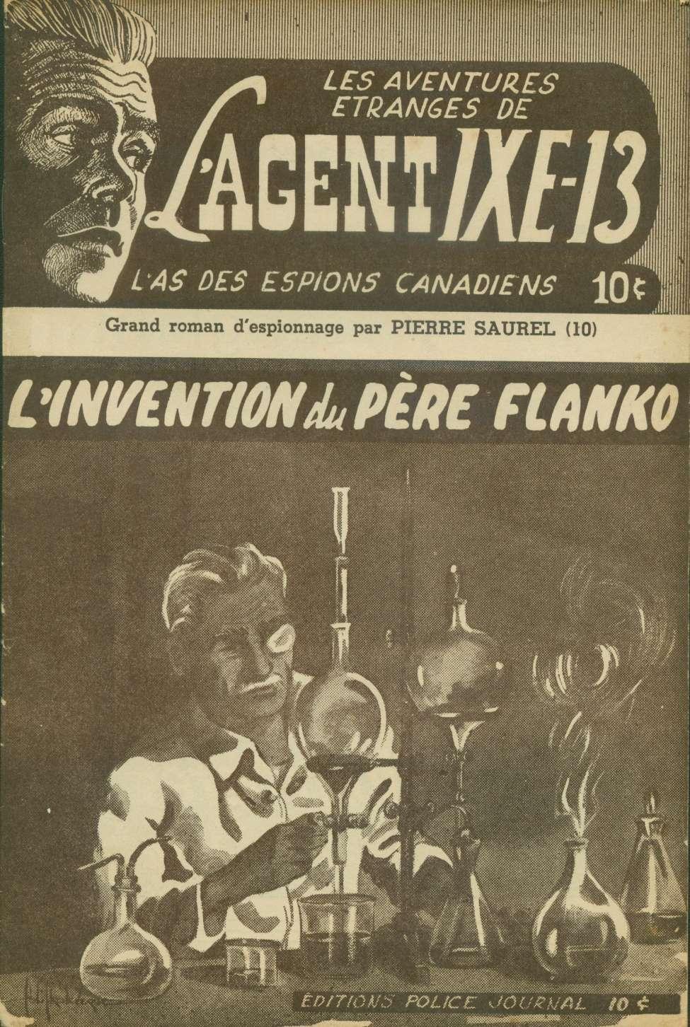 Comic Book Cover For L'Agent IXE-13 v2 010 – L'invention du père Flanko