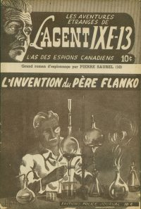 Large Thumbnail For L'Agent IXE-13 v2 010 – L'invention du père Flanko