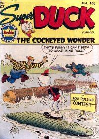 Large Thumbnail For Super Duck Comics #27