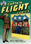 Cover For Captain Flight Comics 4