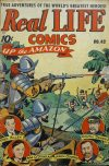 Cover For Real Life Comics 42