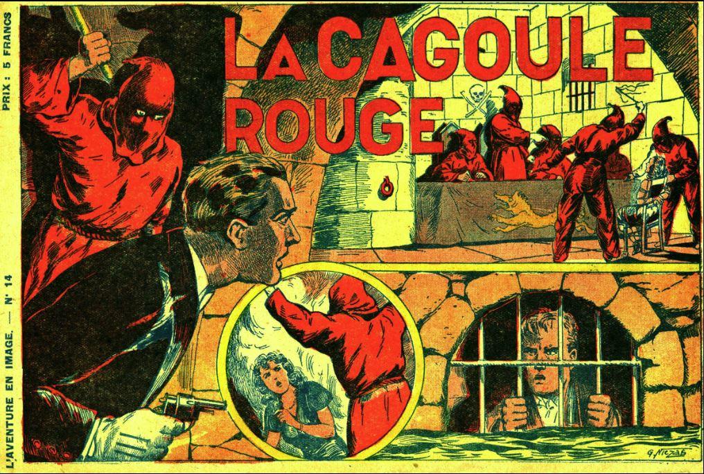 Comic Book Cover For L'aventure en images 14 - La cagoule rouge