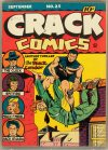 Cover For Crack Comics 25