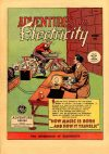 Cover For Adventures in Electricity 1