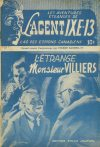 Cover For L'Agent IXE 13 v2 7 – L'étrange monsieur Villiers