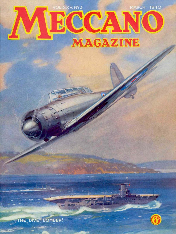 Comic Book Cover For Meccano Magazine v25 03