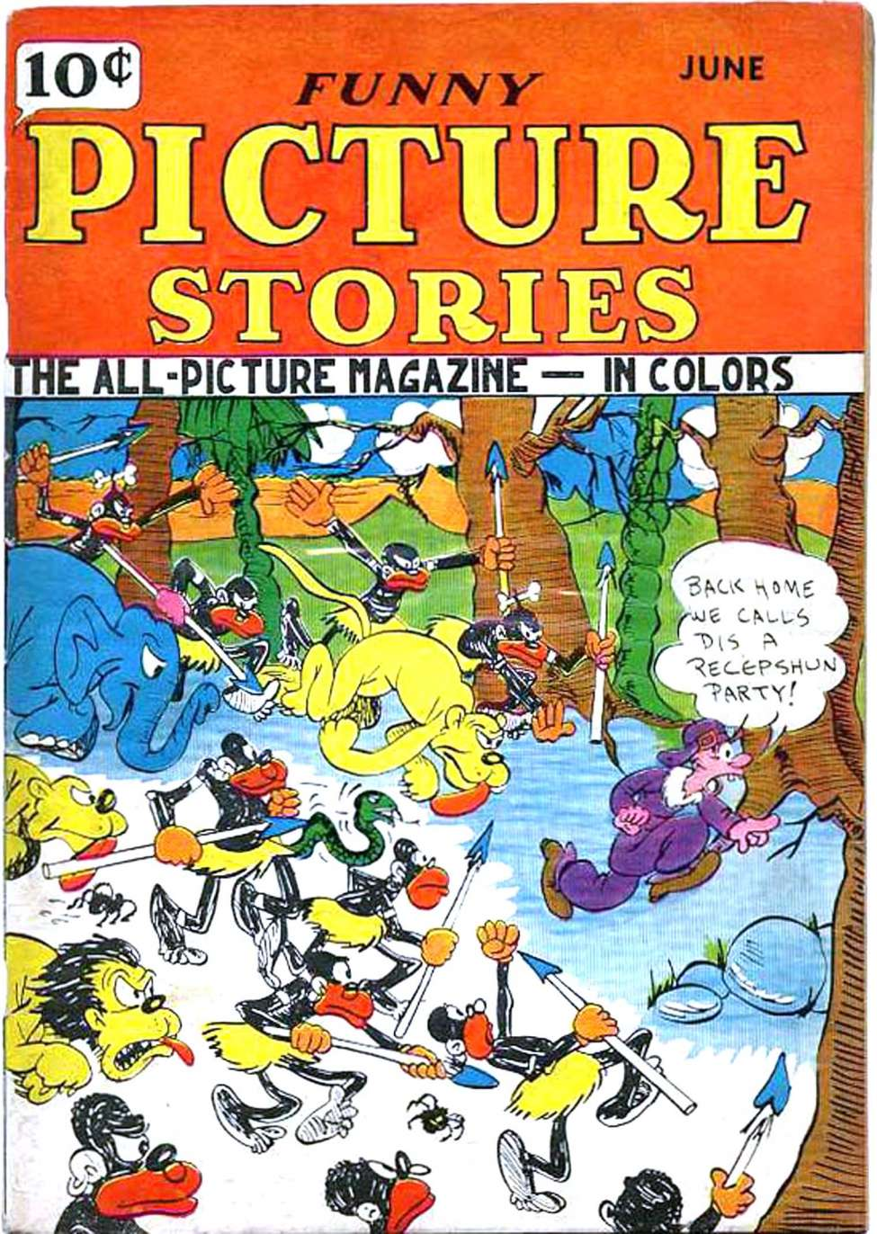 Comic Book Cover For Funny Picture Stories v1 #7