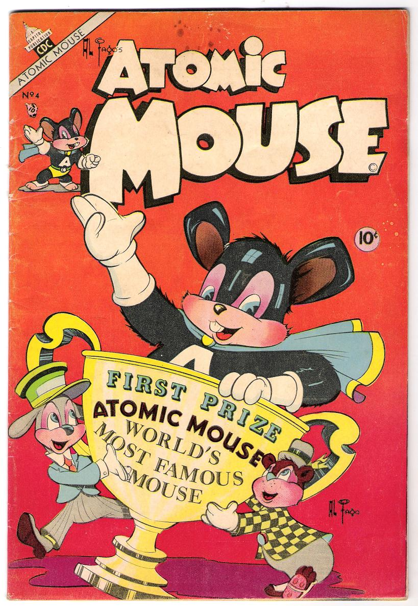 Comic Book Cover For Atomic Mouse #4