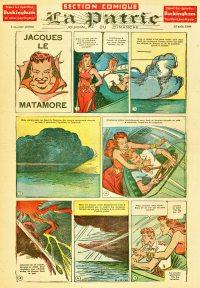 Large Thumbnail For La Patrie - Section Comique (1944-08-13)