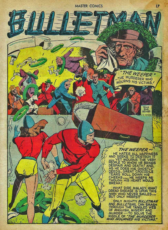 Comic Book Cover For Bulletman Archive Vol 04